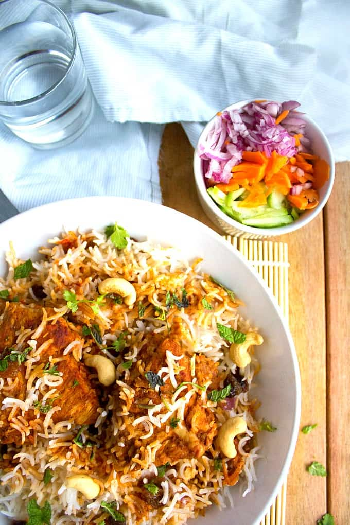 malabar chicken biryani recipe