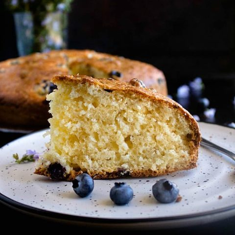 Blueberry Teacake