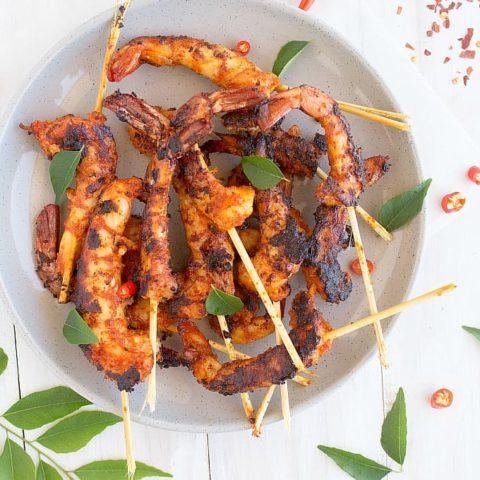Kerala prawn fry