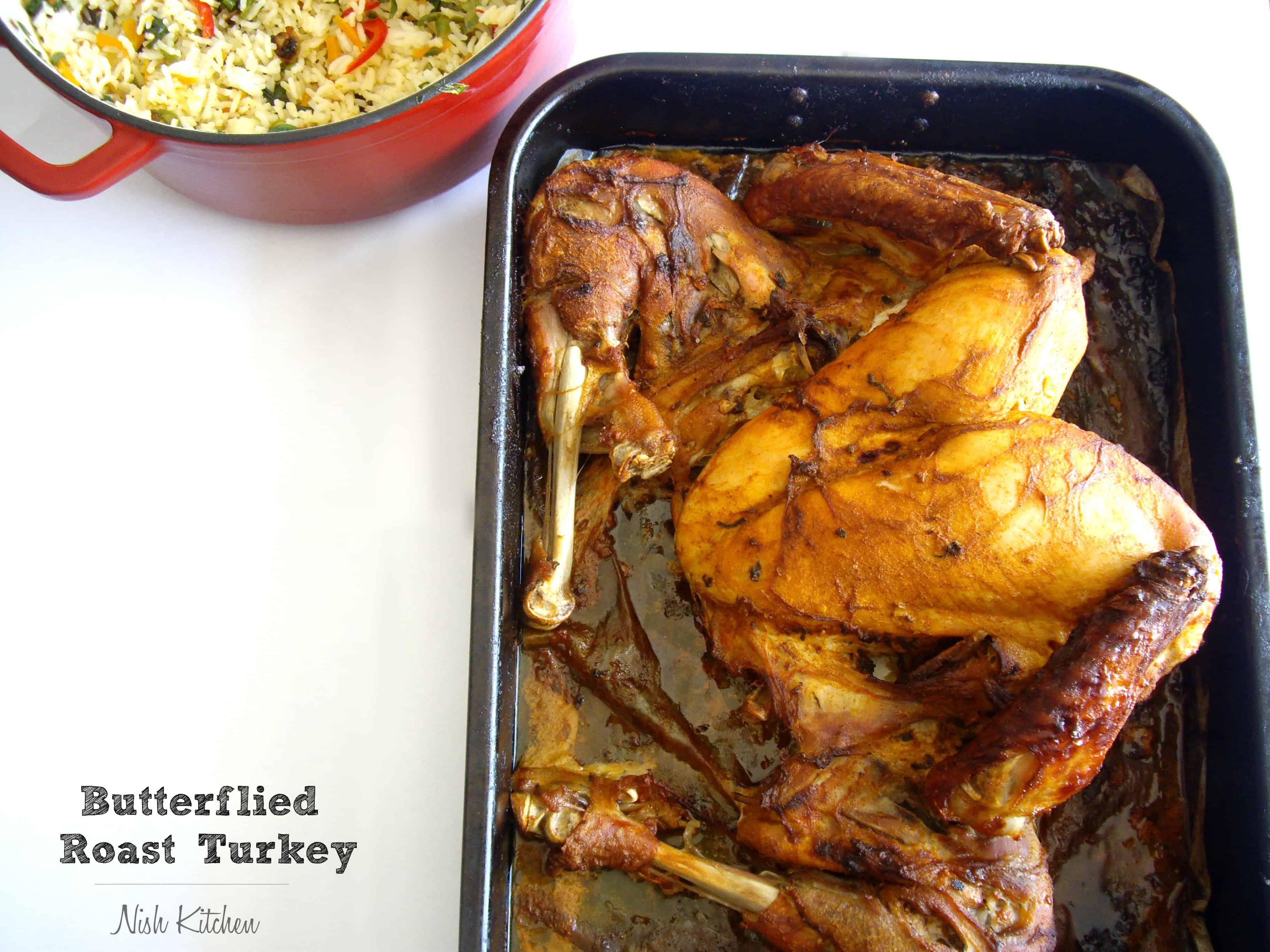 Butterflied Roast Turkey