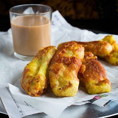 kerala banana fritters or pazham pori recipe
