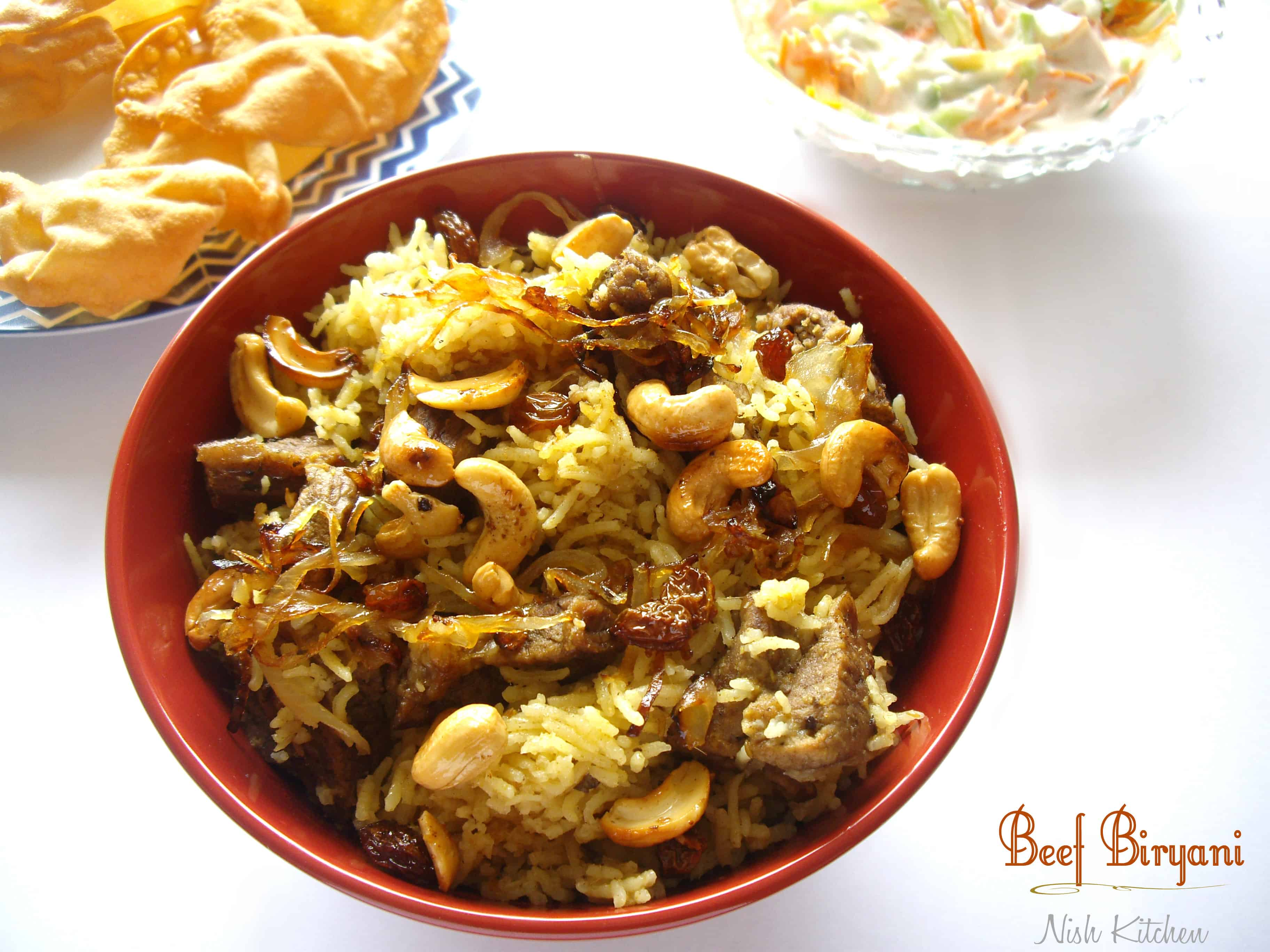 Watch How to Make Beef Biryani video