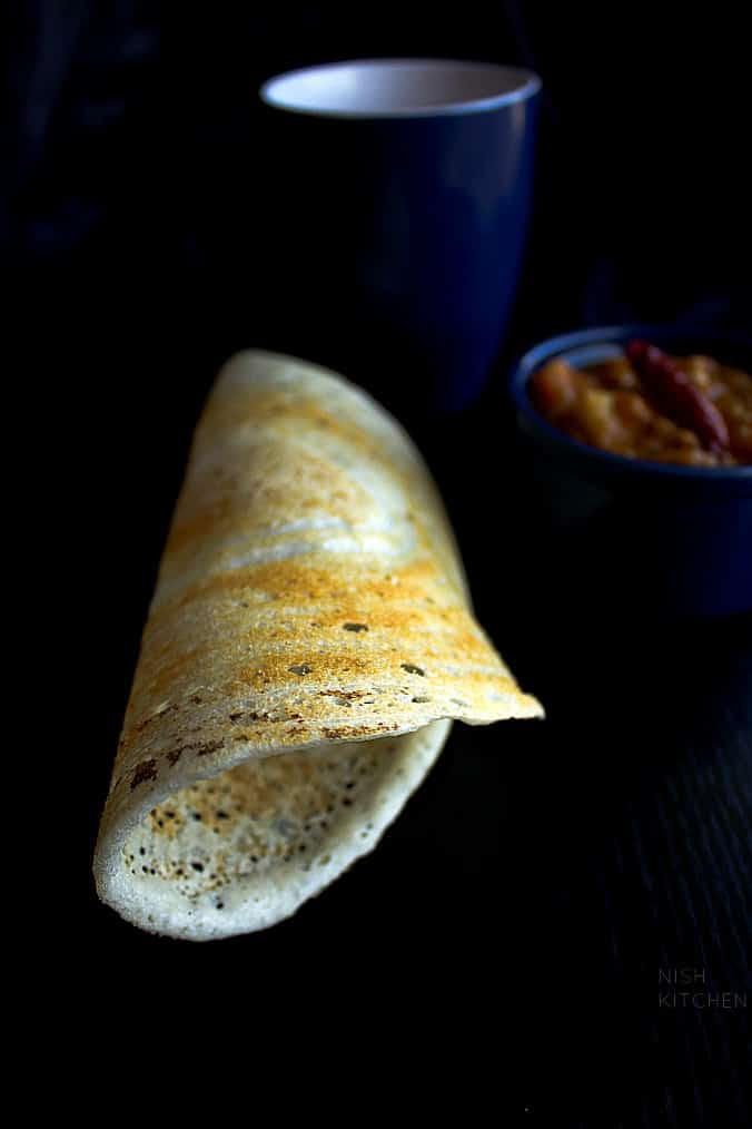 How to Make Dosa |Rice and Lentil Crepes | Nish Kitchen