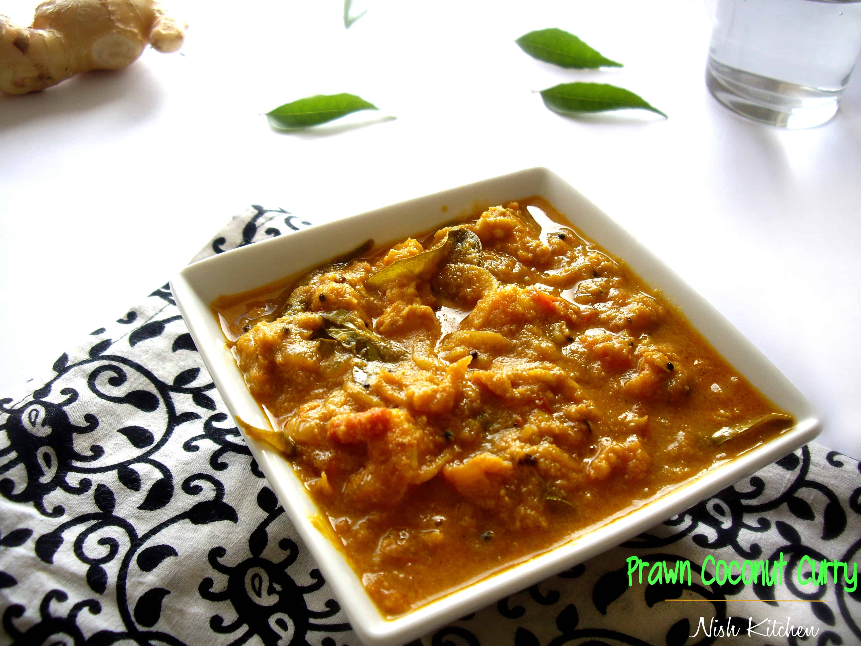 Prawn Coconut Curry