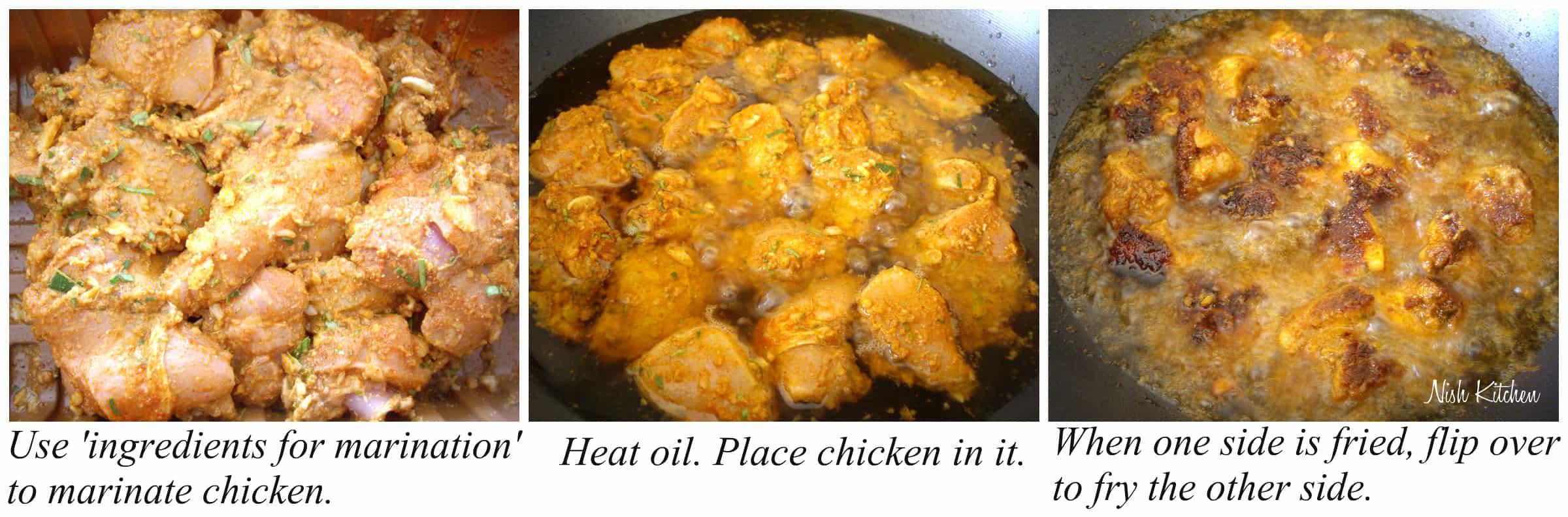 thattukada chicken recipe