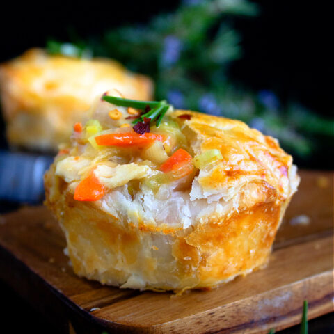 Mini Chicken and Leek Pie Recipe
