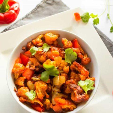 Gobi cauliflower 65 restaurant style | nish kitchen