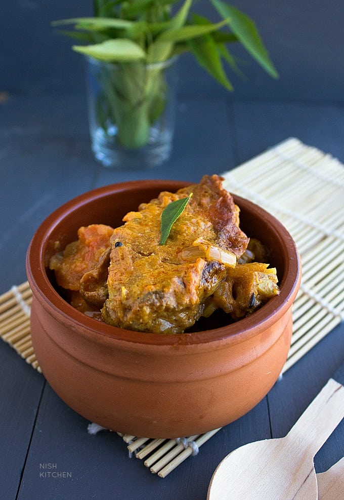 fish coconut curry