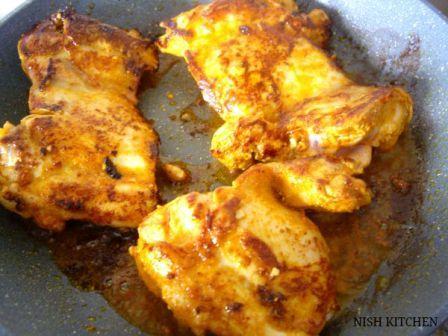 Chicken Bake with Cilantro Rice Salad recipe 4