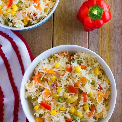 Five Color Pulao | Panchranga Pulao