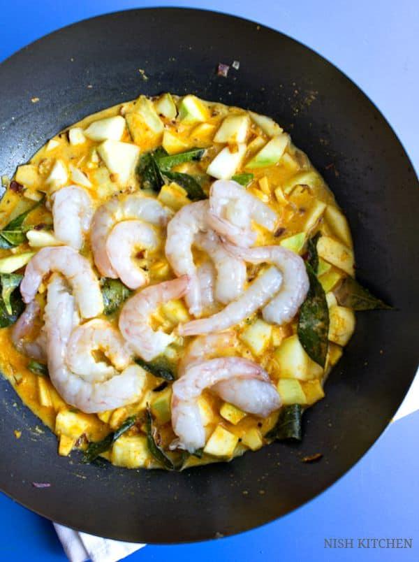 chemmeen manga curry recipe