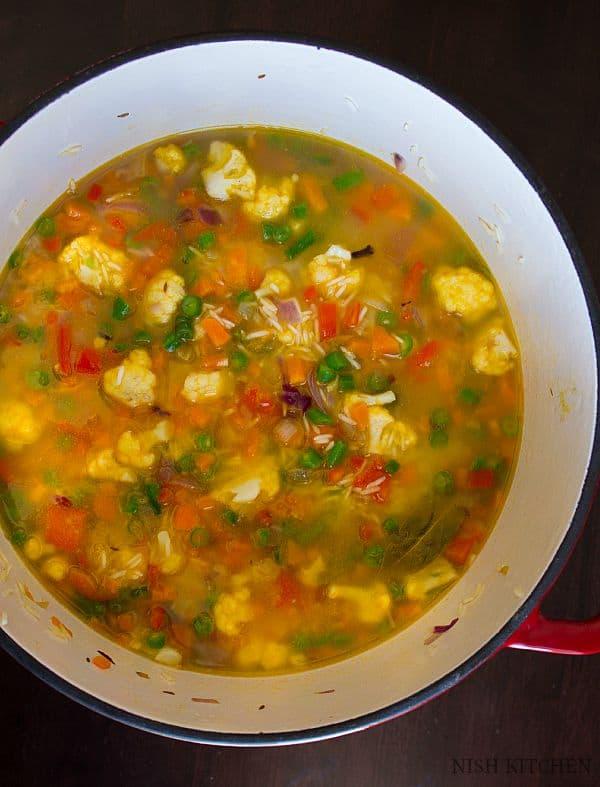 panchranga pulao recipe 3