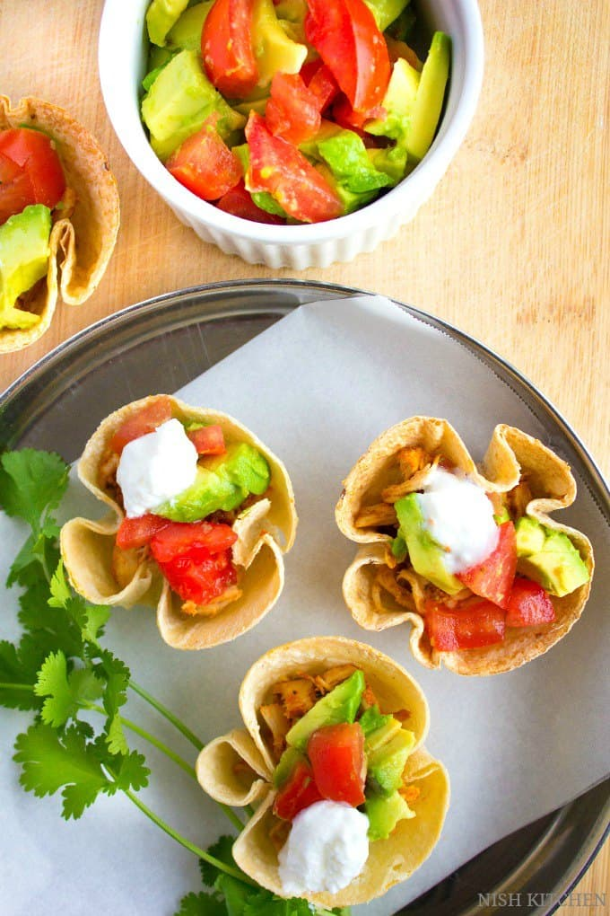 how to make crunchy taco cups