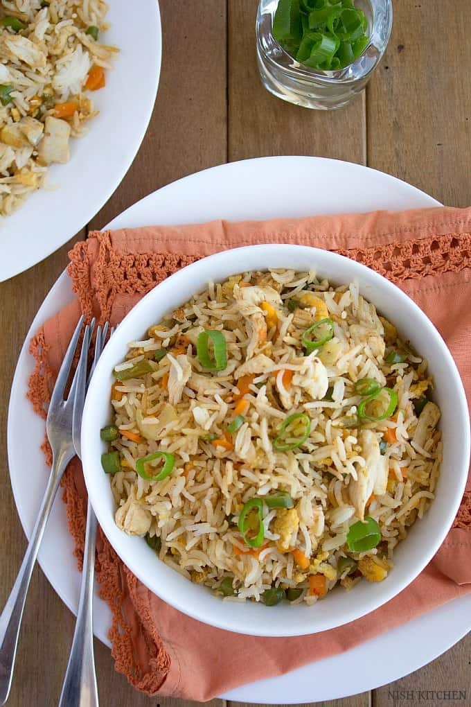 how-to-make-indian-chicken-fried-rice