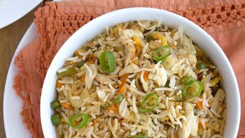 Indian Chicken Fried Rice Restaurant Style Nish Kitchen