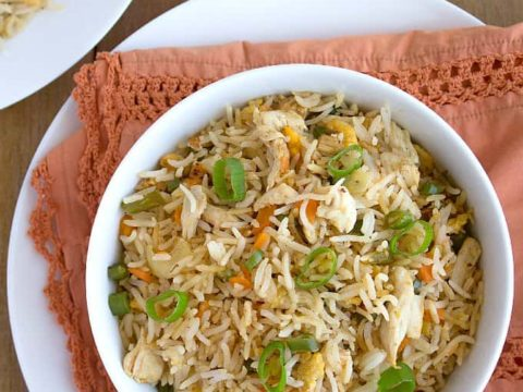 Indian Chicken Fried Rice Restaurant Style Nish Kitchen