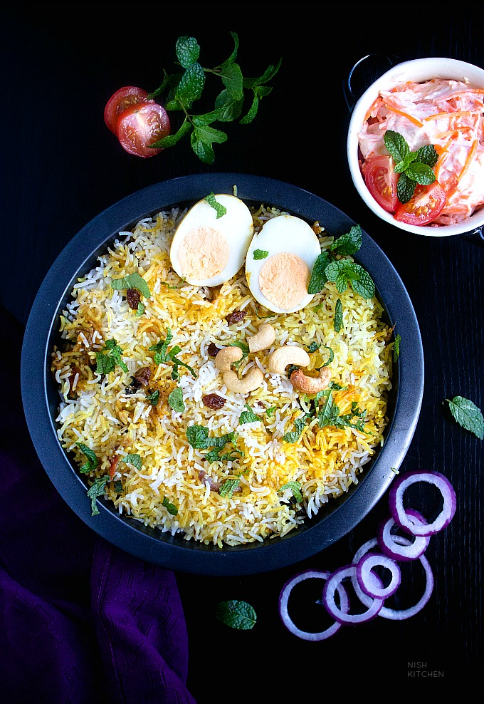 indian egg biryani recipe video