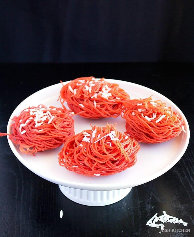 beetroot idiyappam recipe
