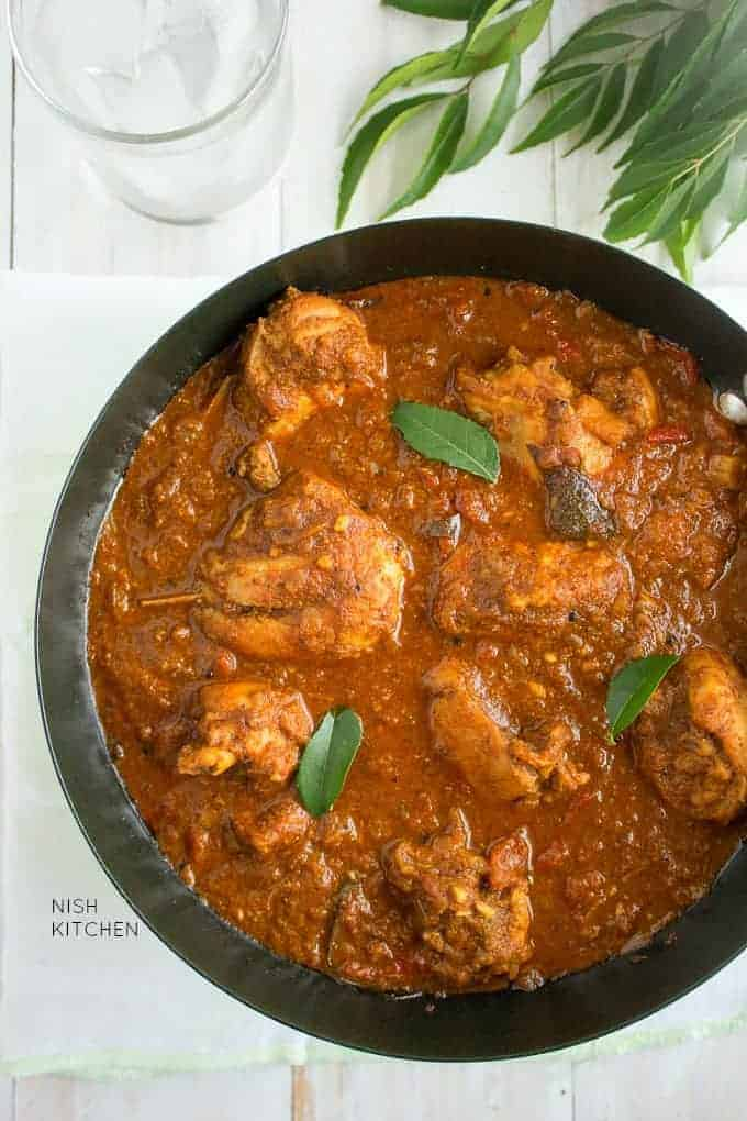 Malabar Chicken Curry Video Nish Kitchen