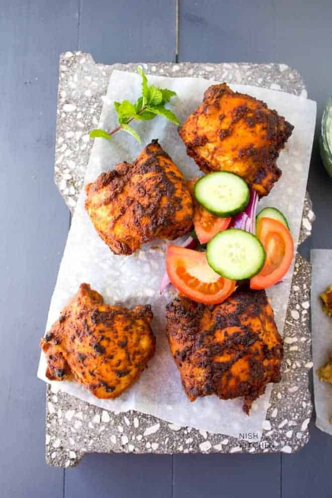 easy baked tandoori chicken recipe