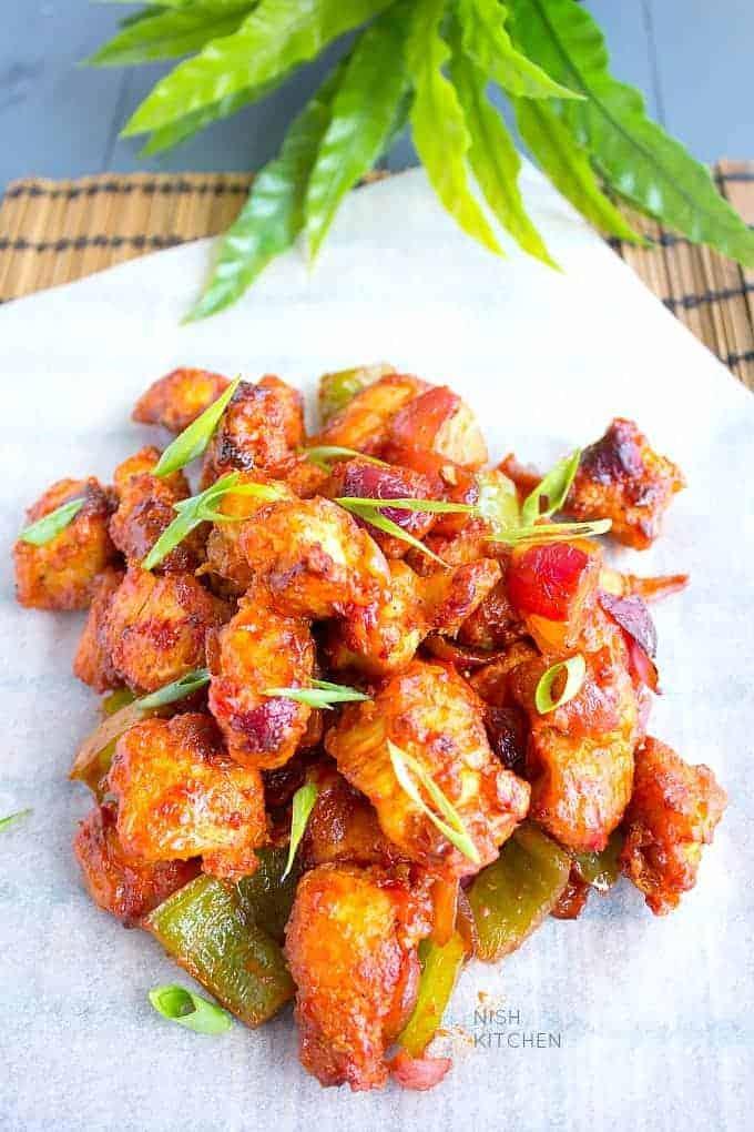chicken manchurian dry recipe