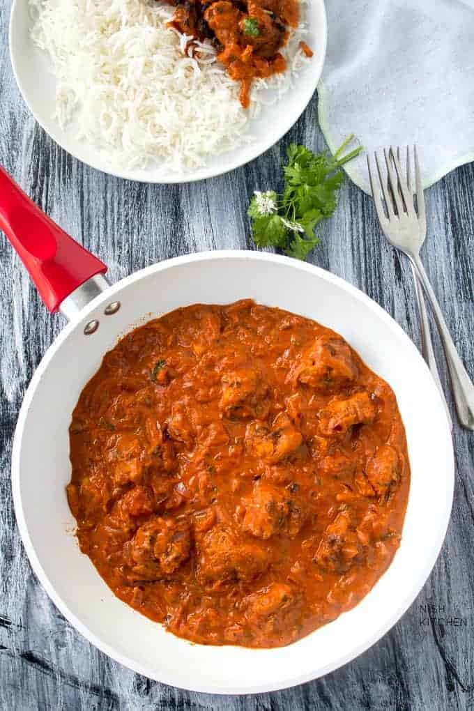 Authentic Chicken Tikka Masala Recipe Video Nish Kitchen