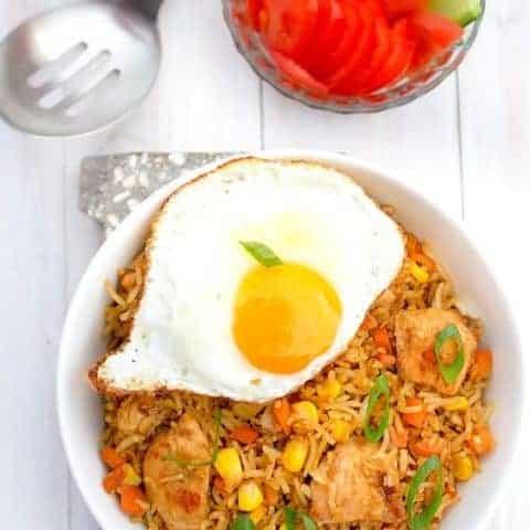 Indonesian Fried Rice (Nasi Goreng) | Video