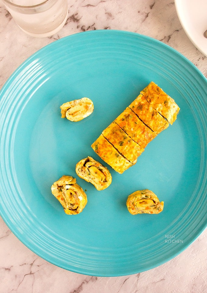 indian masala omelette recipe