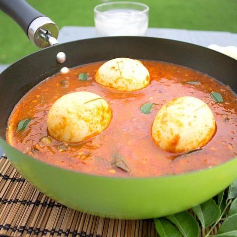 egg pulusu - Andhra egg curry