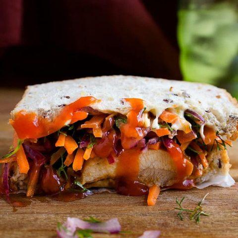spicy chicken sandwich recipe with video