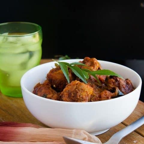 Kerala Chicken Roast   Video
