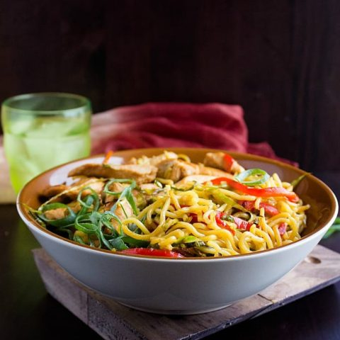 chicken chow mein recipe with video