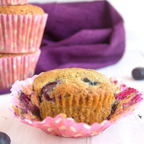 One Bowl Easy Blueberry Muffins | Video