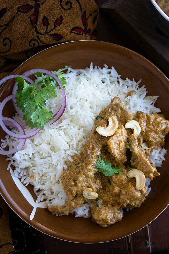 indian chicken korma video recipe