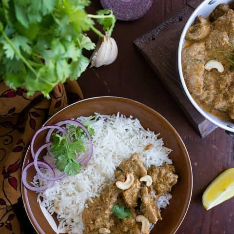 Indian Chicken Korma (Video)