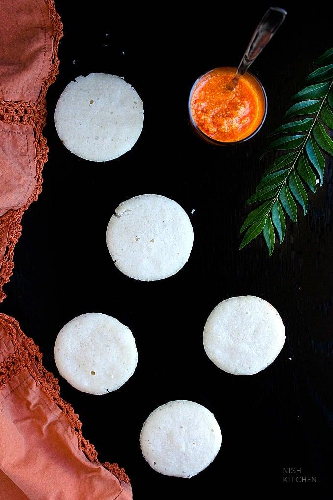 south indian soft idli recipe