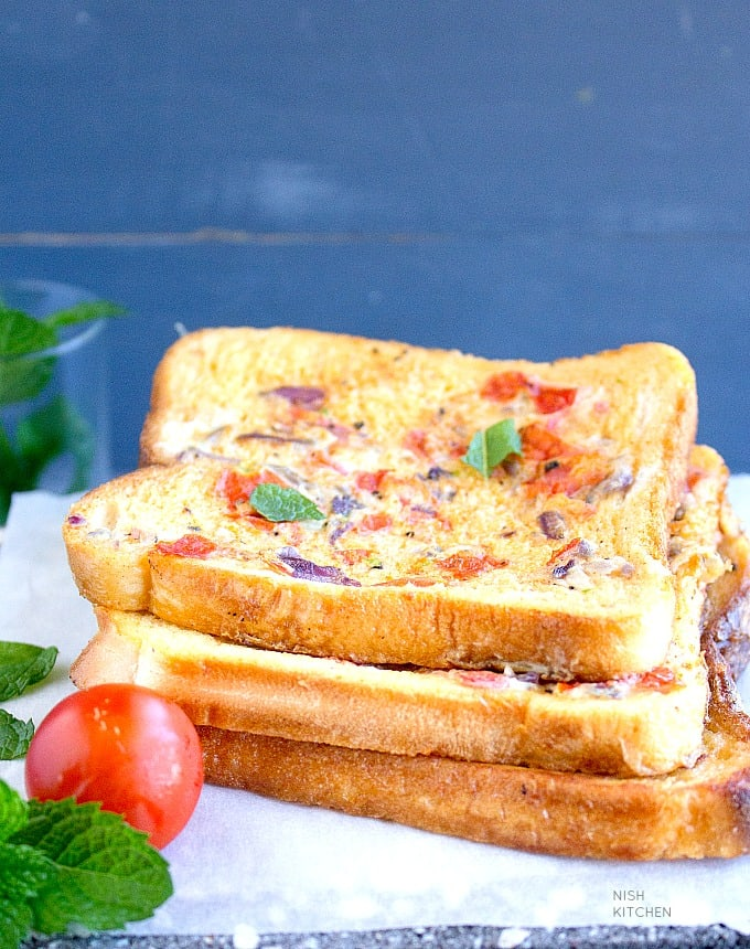 masala french toast with video