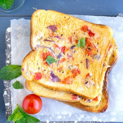Masala French Toast | Indian French Toast | Video