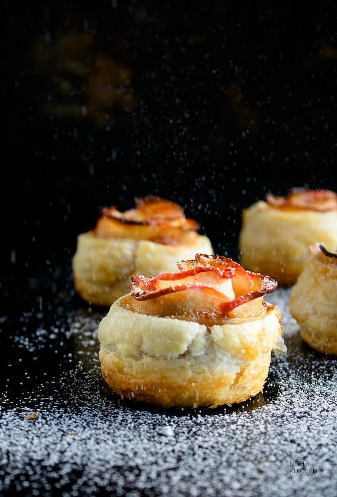 caramel apple roses recipe video