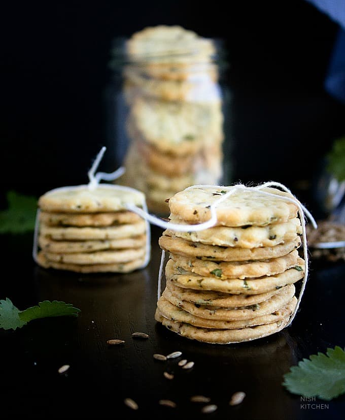 herbed baked papdi recipe