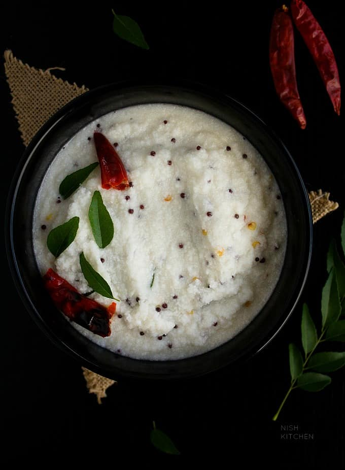 kerala coconut chutney recipe