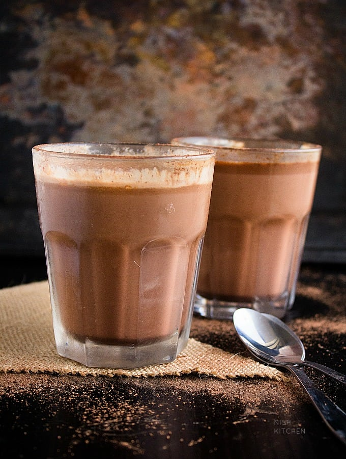 chai hot chocolate recipe video