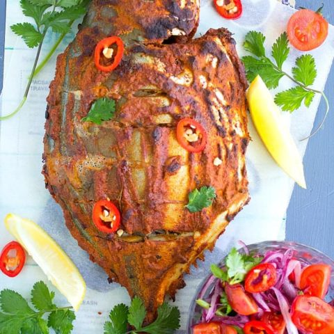 baked tandoori fish recipe with video