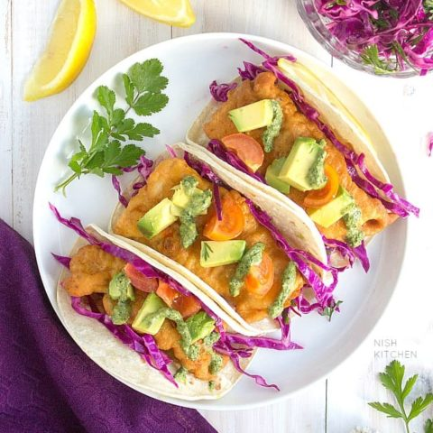 Easy Fish Tacos Indian Style | Video