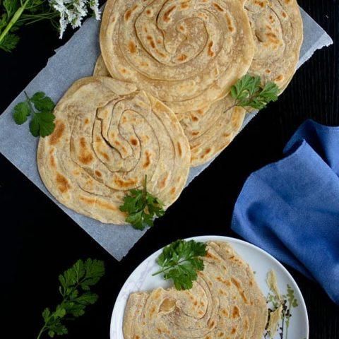 lachha paratha recipe video