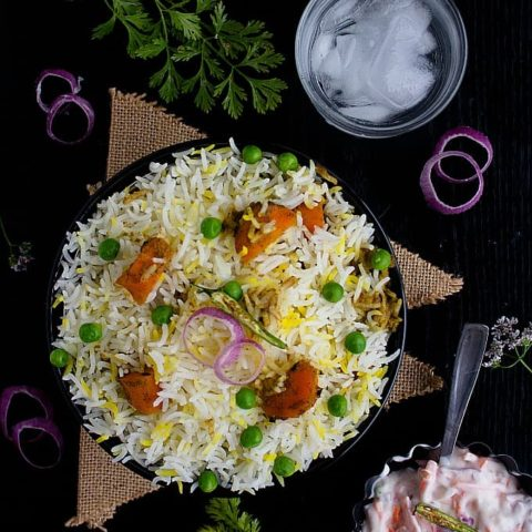veg dum biryani recipe video
