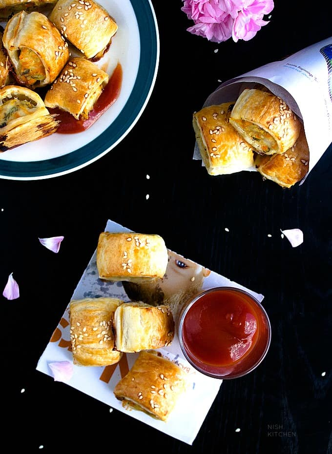 chickensausage rolls recipe