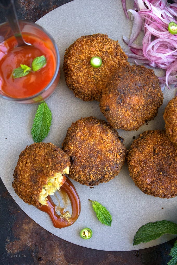 fish cutlet - Indian fish cakes