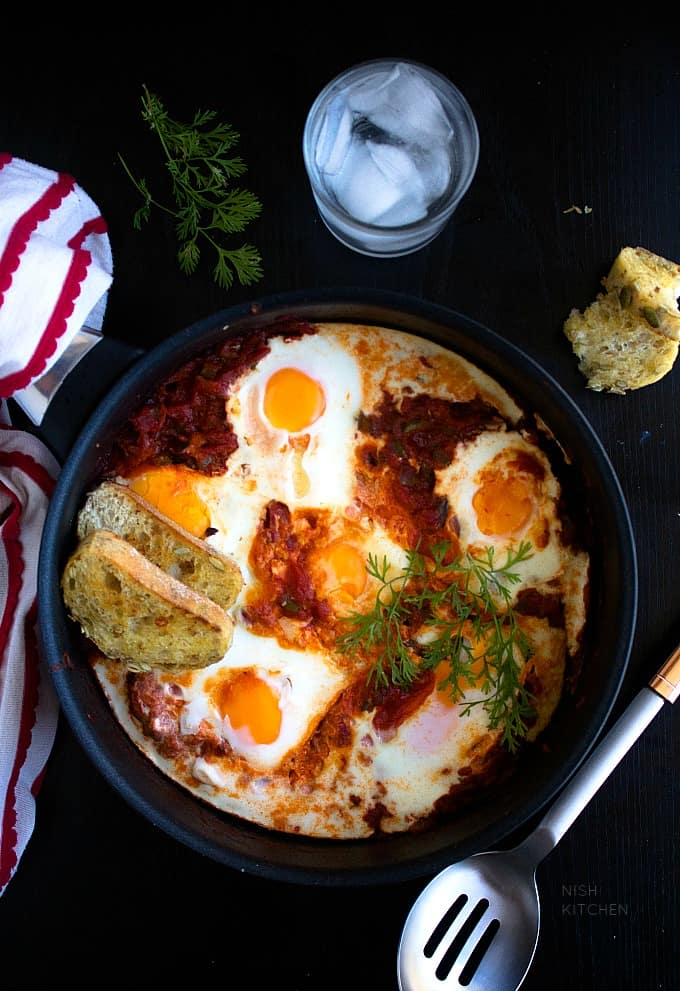 shakshuka recipe video