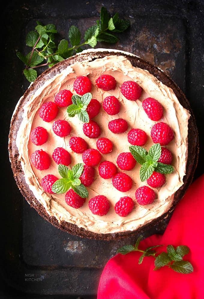 chocolate cheesecake cake recipe video